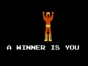 you're a winner